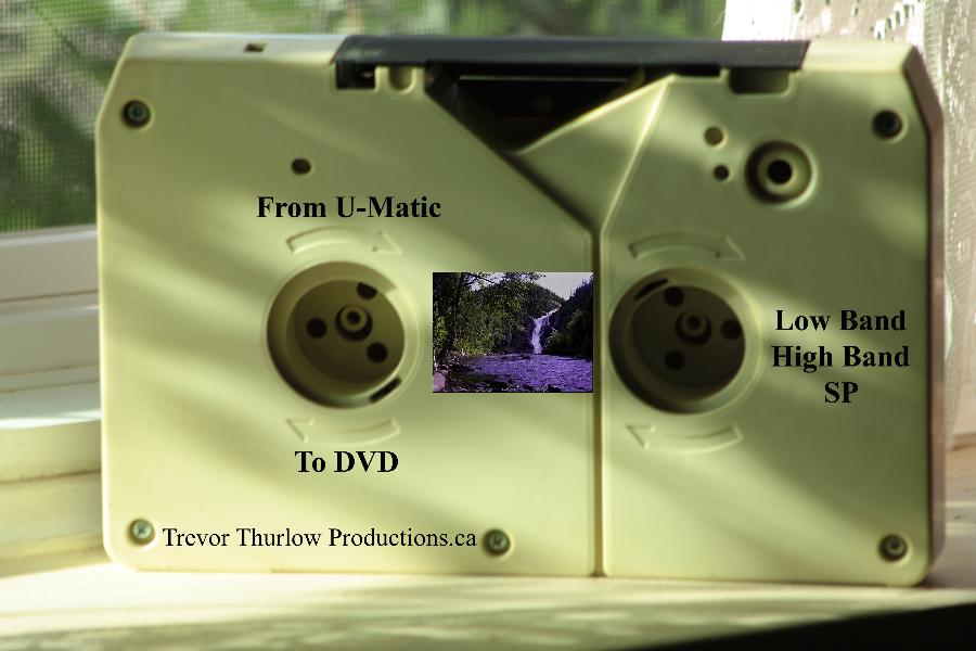 Professional U-Matic To DVD Transfers!