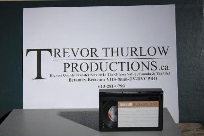 VHS-C To DVD At Trevor Thurlow Productions!